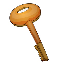 Iron key vector image
