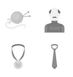 Leisure hobbies textiles and other web icon in vector
