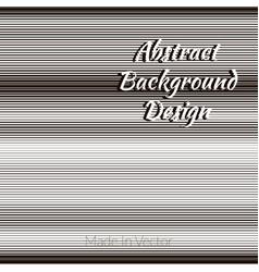 monochrome lines horizontal vector image