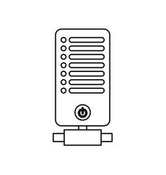 Storage database technology vector