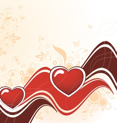 Heart abstract vector