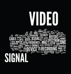 Glossary of terms s z cctv text background word vector