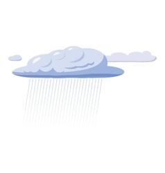Heavy rain icon cartoon style vector
