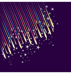 Abstract fireworks background vector
