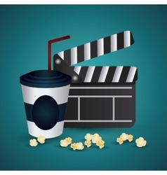 Cinema design movie icon colorful vector