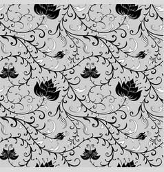 Flowers pattern vector