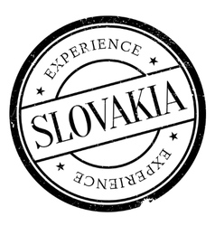 Slovakia stamp rubber grunge vector