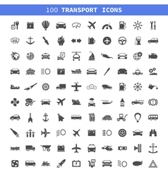 Transport icons7 vector image