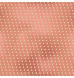 Vintage seamless background with polka dots vector
