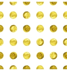 Gold confetti glitter background vector