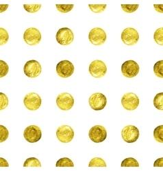 gold Confetti glitter background vector image