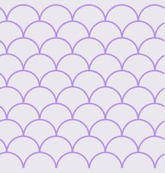 Little mermaid seamless pattern vector