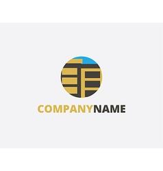 logo building vector image vector image