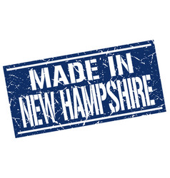 Made in new hampshire stamp vector