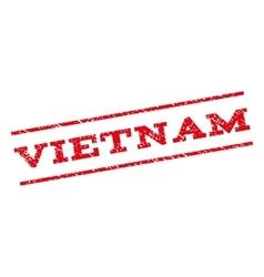 Vietnam watermark stamp vector