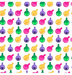 Magic potion pattern vector