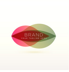 Abstract logo design for your brand vector