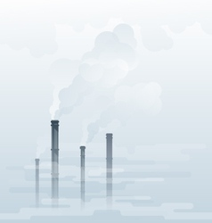 Air Pollution vector image