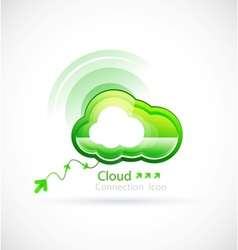 Technology cloud vector