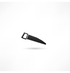 icon of hand saw vector image