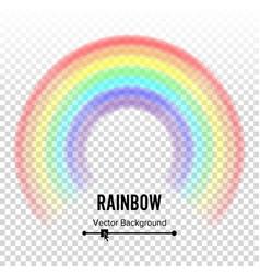 Rainbow circle element color spectrum vector