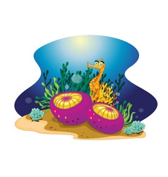 Reef vector image vector image