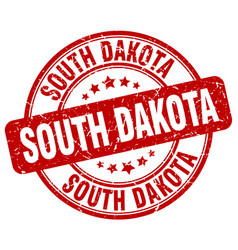 South dakota stamp vector