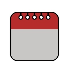Calendar planner day time agend icon vector