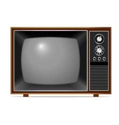Classic tv vector