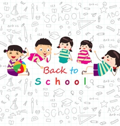 Back to school sketches vector