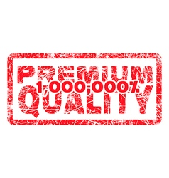 Premium quality million percent grungy vector