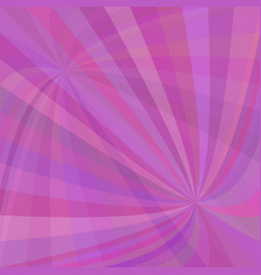 Abstract curved ray burst background - graphic vector
