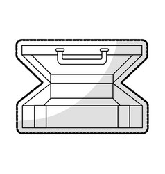 business briefcase icon image vector image vector image