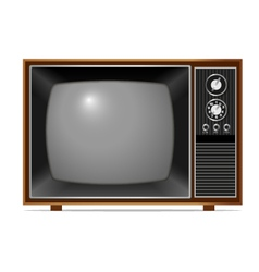 Classic TV vector image