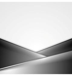 Dark tech corporate background vector