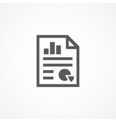 Statistics icon vector image vector image