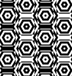 Black and white alternating squares cut through vector
