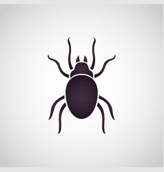 Dust mites logo vector