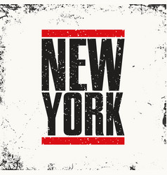 new york sportswear emblem athletic apparel vector image vector image