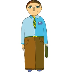 Office Workers vector image vector image