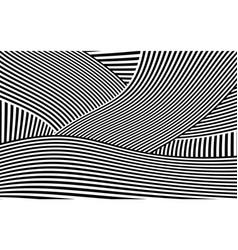 Zebra design black and white stripes vector