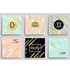 Set of elegant banner templates vector