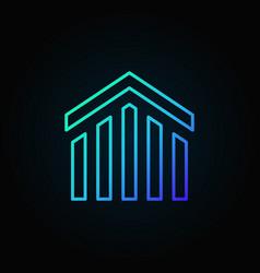 Real estate colorful icon vector