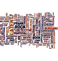 The latent book review text background word cloud vector