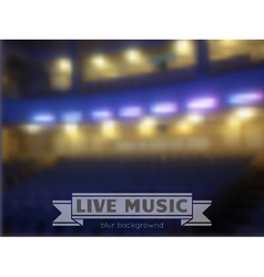 Live music conctrt blur background vector