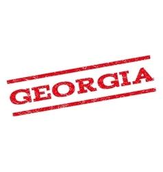 Georgia Watermark Stamp vector image