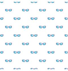 Sunglasses pattern cartoon style vector