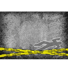 texture grain grey murder vector image vector image