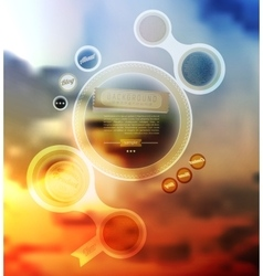 Web Elements Buttons and Labels Site vector image