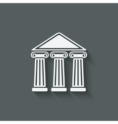 Building with columns vector